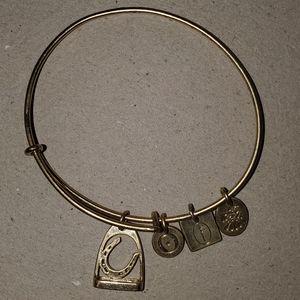 Bow River Horseshoe Lucky Charm Bracelet